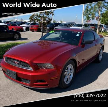 2014 Ford Mustang for sale at World Wide Auto in Fayetteville NC