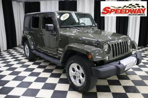 2015 Jeep Wrangler Unlimited for sale at SPEEDWAY AUTO MALL INC in Machesney Park IL