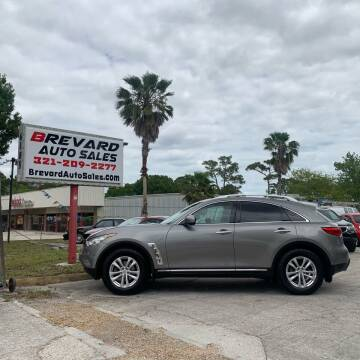 2011 Infiniti FX35 for sale at Brevard Auto Sales in Palm Bay FL