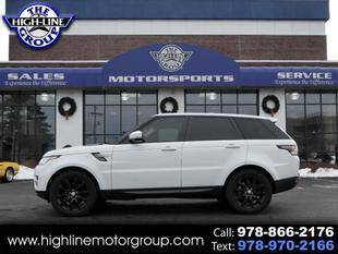 2017 Land Rover Range Rover Sport for sale at Highline Group Motorsports in Lowell MA