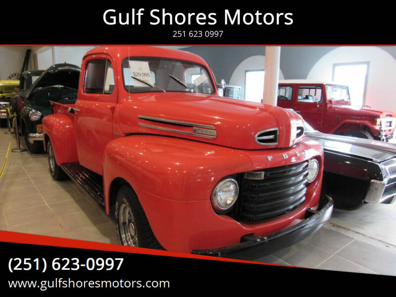 1950 Ford F 1 for sale at Gulf Shores Motors in Gulf Shores AL