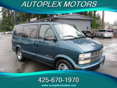2001 Chevrolet Astro for sale at Autoplex Motors in Lynnwood WA