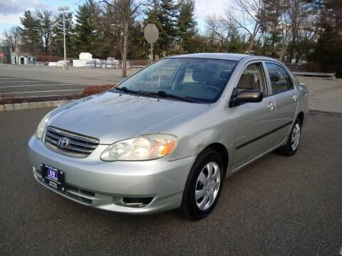 2003 Toyota Corolla for sale at B&B Auto LLC in Union NJ
