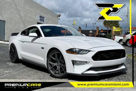 2018 Ford Mustang for sale at Premium Cars of Miami in Miami FL