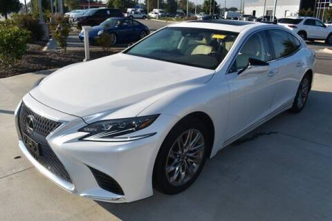 2019 Lexus LS 500 for sale at PHIL SMITH AUTOMOTIVE GROUP - MERCEDES BENZ OF FAYETTEVILLE in Fayetteville NC