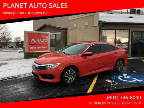 2018 Honda Civic for sale at PLANET AUTO SALES in Lindon UT