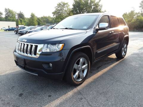 2012 Jeep Grand Cherokee for sale at Cruisin' Auto Sales in Madison IN