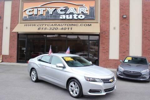 2015 Chevrolet Impala for sale at CITY CAR AUTO INC in Nashville TN