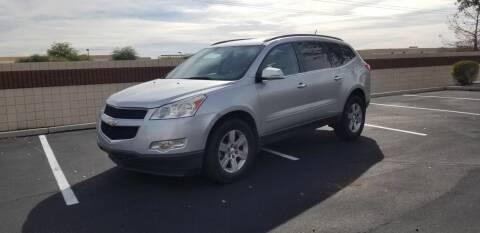 2010 Chevrolet Traverse for sale at Sooner Automotive Sales & Service LLC in Peoria AZ