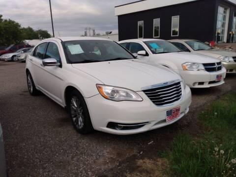 2011 Chrysler 200 for sale at L & J Motors in Mandan ND