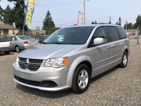 2012 Dodge Grand Caravan for sale at A & V AUTO SALES LLC in Marysville WA
