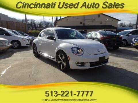 2013 Volkswagen Beetle for sale at Cincinnati Used Auto Sales in Cincinnati OH