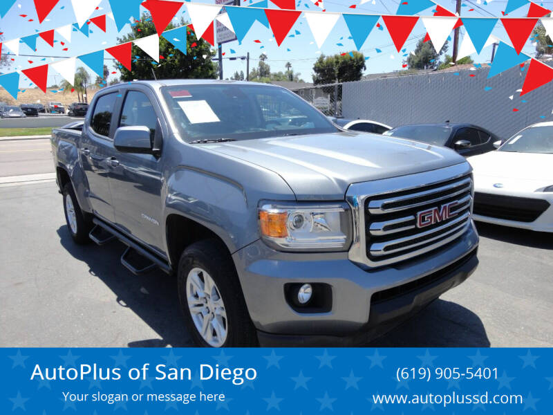 2019 GMC Canyon for sale at AutoPlus of San Diego in Spring Valley CA