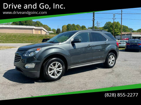 2017 Chevrolet Equinox for sale at Drive and Go, Inc. in Hickory NC