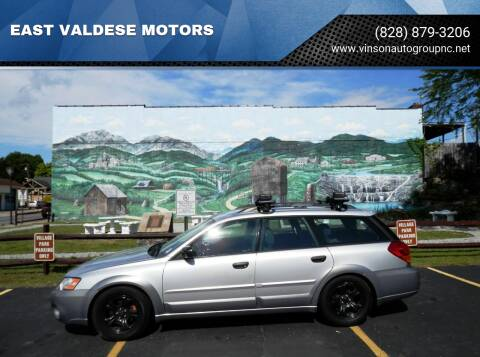 2007 Subaru Outback for sale at EAST VALDESE MOTORS in Valdese NC