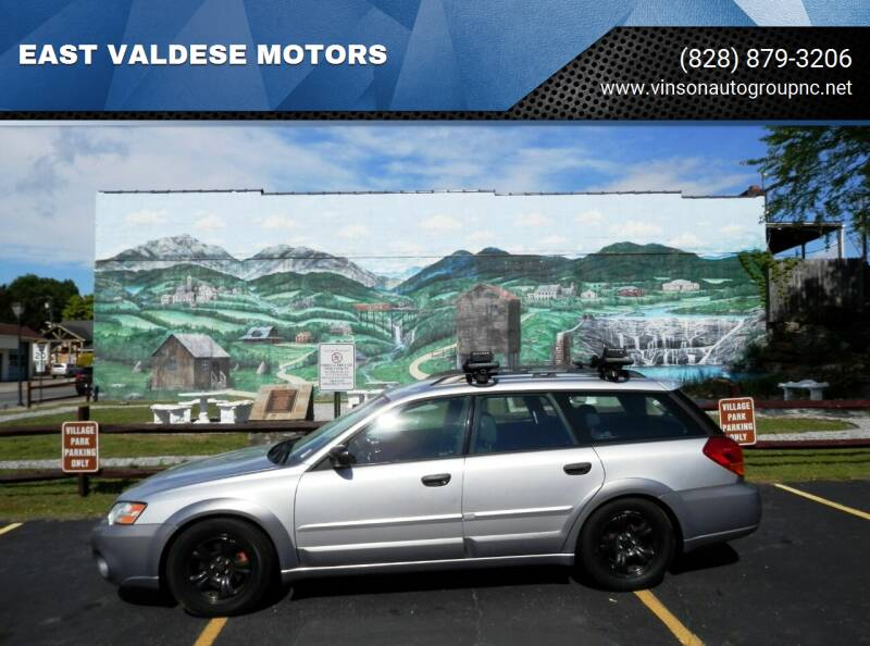 2007 Subaru Outback for sale at EAST VALDESE MOTORS / VINSON AUTO GROUP in Valdese NC