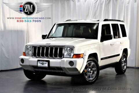 2006 Jeep Commander for sale at ZONE MOTORS in Addison IL