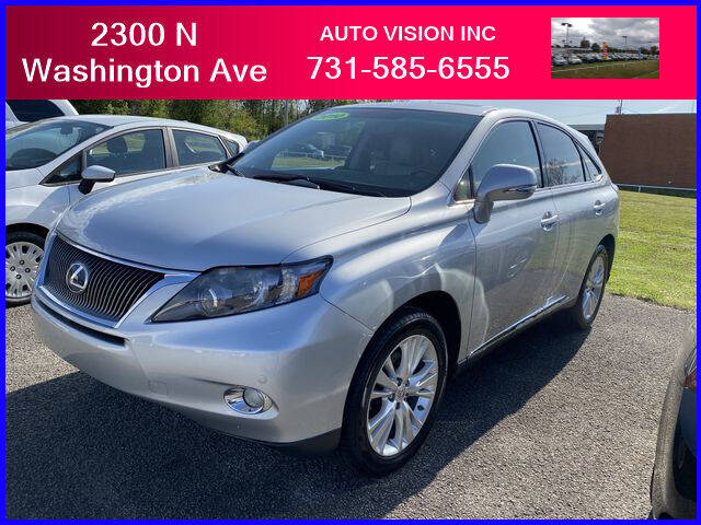 2010 Lexus RX 450h for sale at Auto Vision Inc. in Brownsville TN