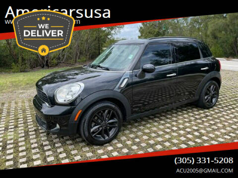 2012 MINI Cooper Countryman for sale at Americarsusa in Hollywood FL