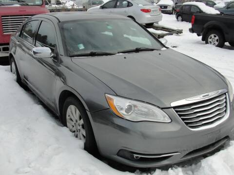 2013 Chrysler 200 for sale at Turnpike Auto Sales LLC in East Springfield NY