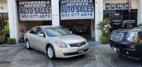 2009 Nissan Altima Hybrid for sale at Affordable Imports Auto Sales in Murrieta CA