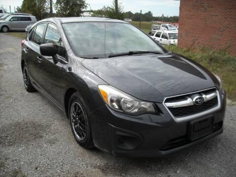 2013 Subaru Impreza for sale at Euroasian Motors LLC in Richmond VA