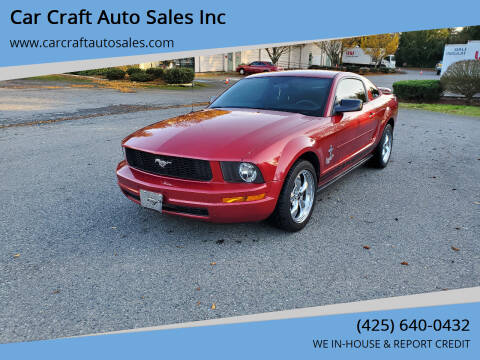 2005 Ford Mustang for sale at Car Craft Auto Sales Inc in Lynnwood WA