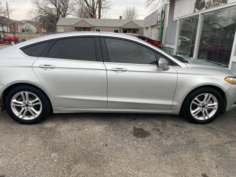 2018 Ford Fusion for sale at Unique Motors in Wichita KS
