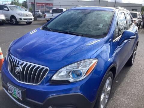 2015 Buick Encore for sale at Royal Moore Custom Finance in Hillsboro OR