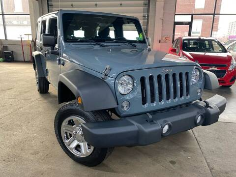 2014 Jeep Wrangler Unlimited for sale at John Warne Motors in Canonsburg PA