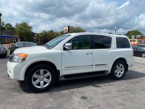 2012 Nissan Armada for sale at BWK of Columbia in Columbia SC