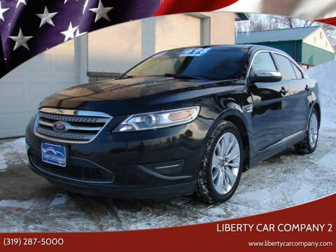 2011 Ford Taurus for sale at Liberty Car Company - II in Waterloo IA
