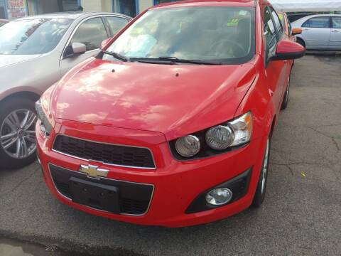2014 Chevrolet Sonic for sale at Polonia Auto Sales and Service in Hyde Park MA