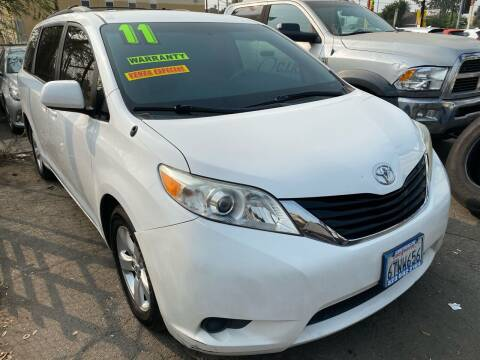 2011 Toyota Sienna for sale at CAR GENERATION CENTER, INC. in Los Angeles CA