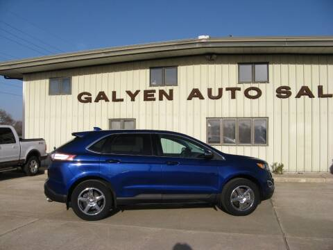 2015 Ford Edge for sale at Galyen Auto Sales Inc. in Atkinson NE