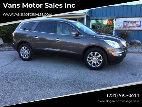 2011 Buick Enclave for sale at Vans Motor Sales Inc in Traverse City MI