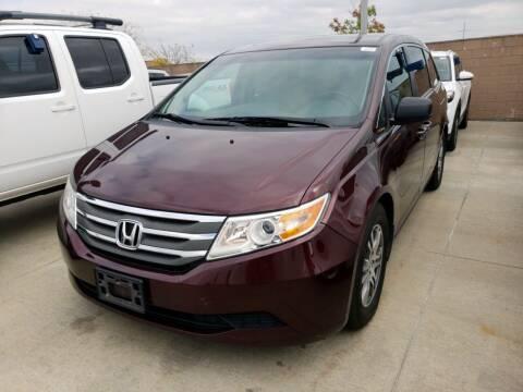 2012 Honda Odyssey for sale at Sarpy County Motors in Springfield NE