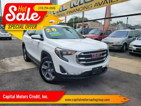 2020 GMC Terrain for sale at Capital Motors Credit, Inc. in Chicago IL