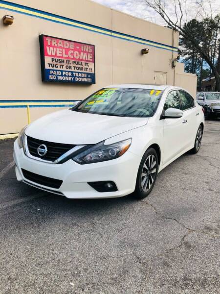 2017 Nissan Altima for sale at Capital Car Sales of Columbia in Columbia SC