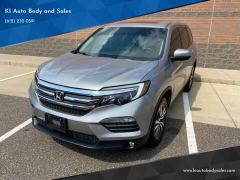 2016 Honda Pilot for sale at KI Auto Body and Sales in Lino Lakes MN