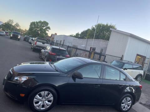 2014 Chevrolet Cruze for sale at Sanaa Auto Sales LLC in Denver CO