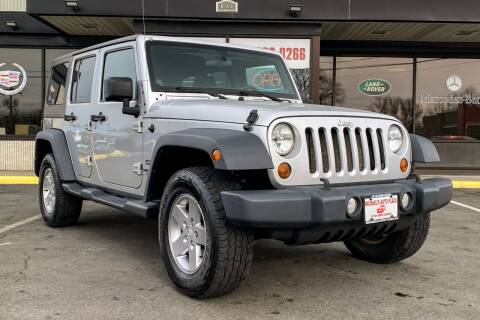 2011 Jeep Wrangler Unlimited for sale at Michaels Auto Plaza in East Greenbush NY