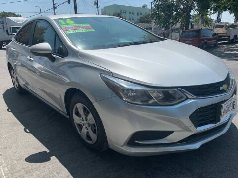 2016 Chevrolet Cruze for sale at Bay Areas Finest in San Jose CA
