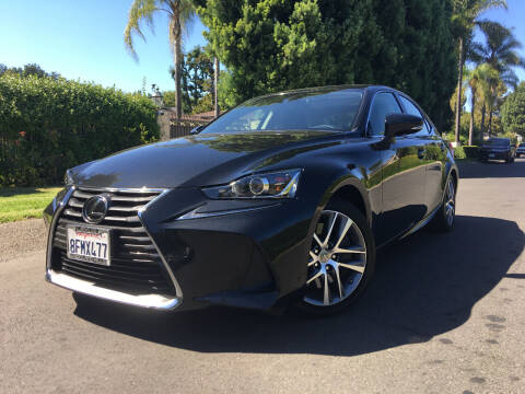 2018 Lexus IS 300 for sale at Valley Coach Co Sales & Lsng in Van Nuys CA