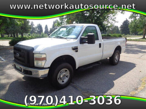 2008 Ford F-250 Super Duty for sale at Network Auto Source in Loveland CO