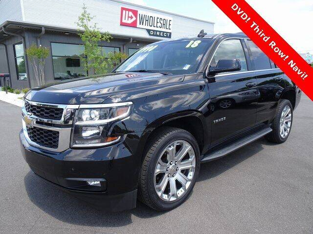 2018 Chevrolet Tahoe for sale at Wholesale Direct in Wilmington NC