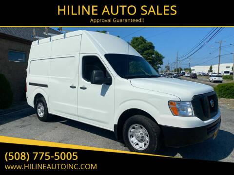 2014 Nissan NV Cargo for sale at HILINE AUTO SALES in Hyannis MA