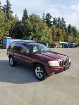 2002 Jeep Grand Cherokee for sale at RICKIES AUTO, LLC. in Portland OR