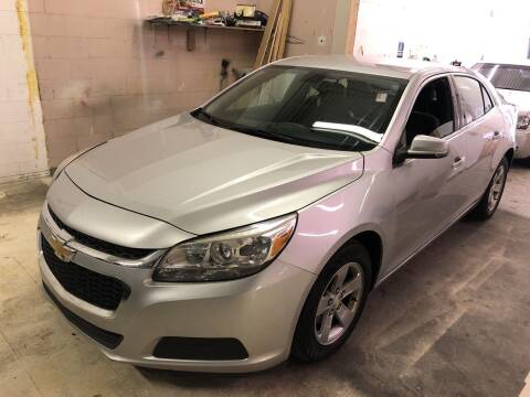 2016 Chevrolet Malibu Limited for sale at Cargo Vans of Chicago LLC in Mokena IL