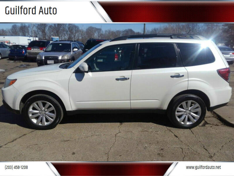 2011 Subaru Forester for sale at Guilford Auto in Guilford CT